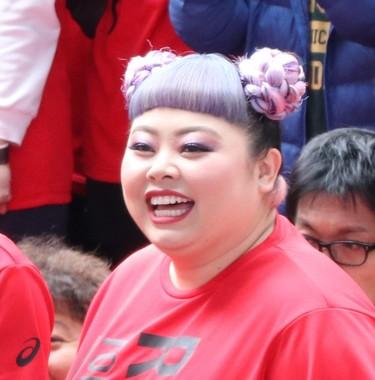 渡辺直美さん(2019年撮影)。タレントとしての意気込みも