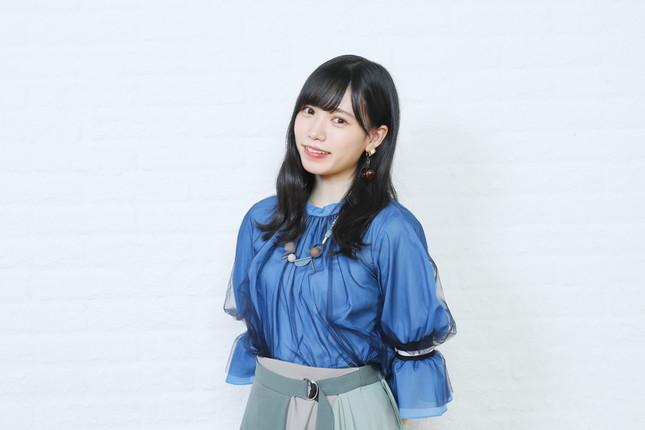 新曲「3-2(さんひくに)」(2020年4月22日発売)でセンターに起用された運上弘菜さん。4期生が表題曲のセンターに選ばれるのは初めてだ (c)Mercury