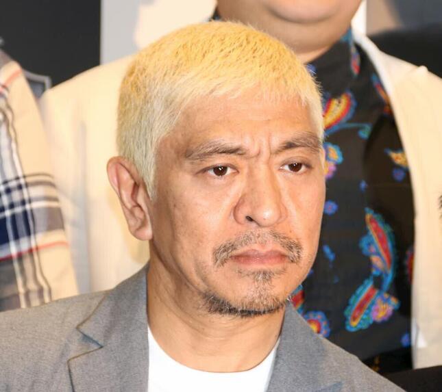 松本人志さん。反響は台湾でも