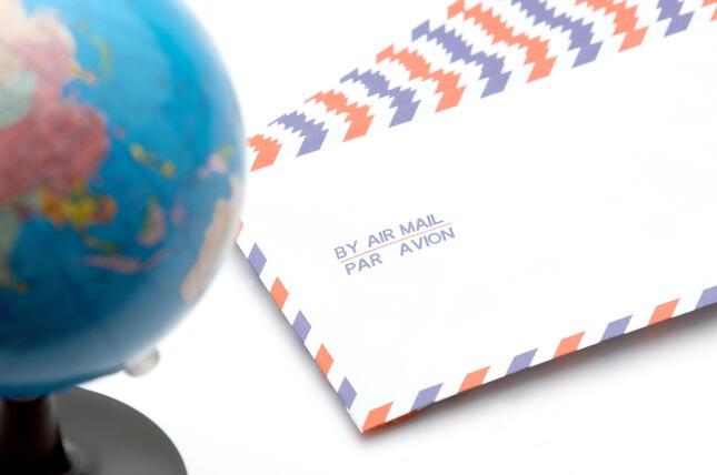 航空便の激減で多くの国に郵便が出せない状態が続いている(写真はイメージ)