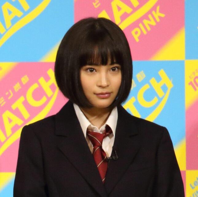 広瀬すずさん(2015年撮影)