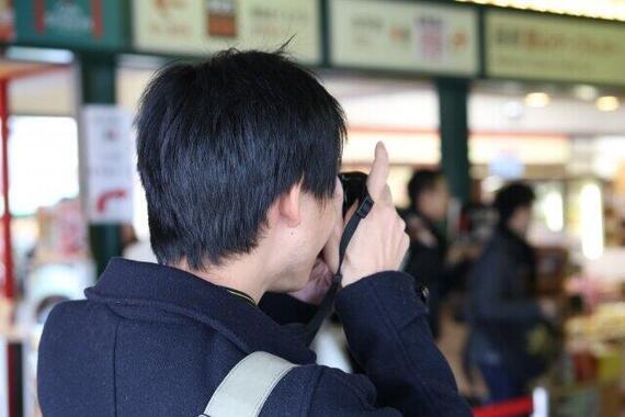 「撮影目的」で駅に来ないよう求める(画像はイメージ)