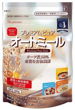 「日食プレミアム ピュア オートミール 300g」(日本食品製造提供)
