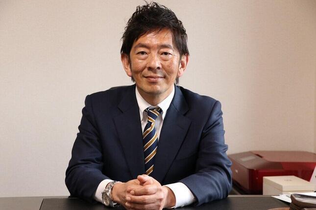 一般社団法人S.E.A代表理事、日本営業大学学長の中田仁之(ひとし)氏