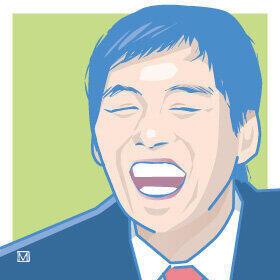 明石家さんまさんの誕生日を祝福。