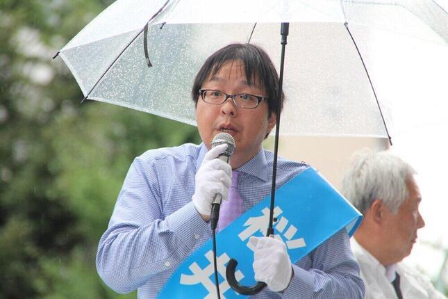 桜井誠氏は前回2016年の都知事選と比べて得票を1.5倍に伸ばした(2016年撮影)