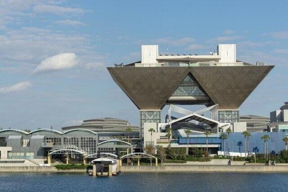 大型同人即売会の開催地に多数用いられる東京ビッグサイト