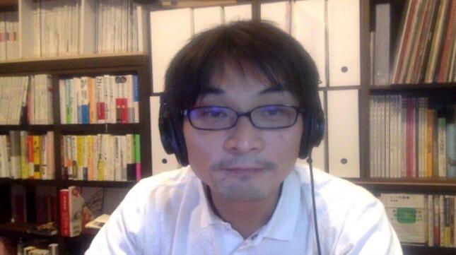 音楽ジャーナリストの柴那典さん