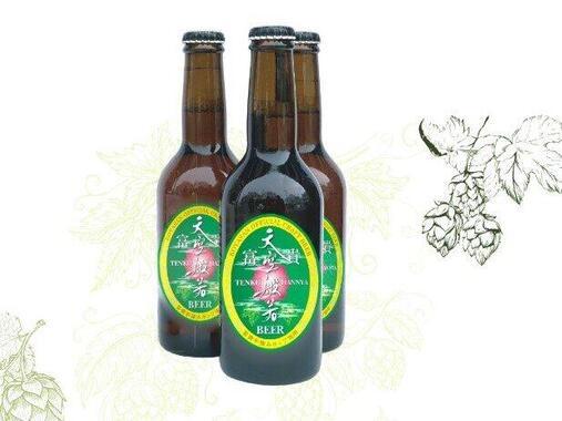 和歌山県高野町が返礼品にしている「天空般若クラフトビール」(三ツ星ファーム提供)