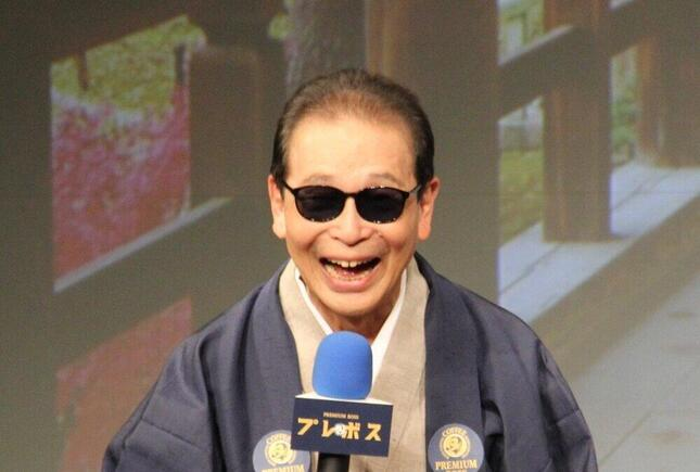 タモリさん。小池栄子さんに「ドM」ぶりを明かされる