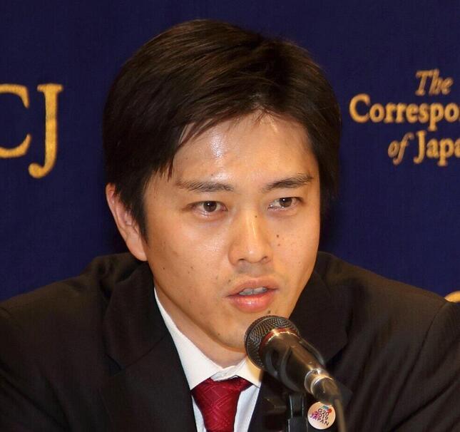 吉村洋文大阪府知事(2019年2月撮影)