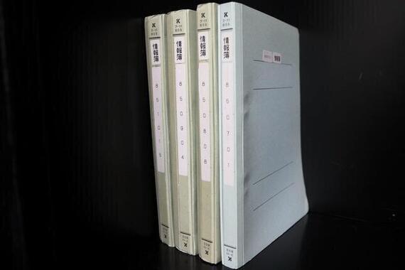 中曾根康弘元首相が国立国会図書館に寄託した資料の中には「情報簿」と題したファイルもある。その中には、政治家の発言を記した大量の取材メモがとじ込まれている