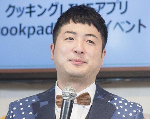 「和牛」の水田信二さん(2018年3月13日撮影)
