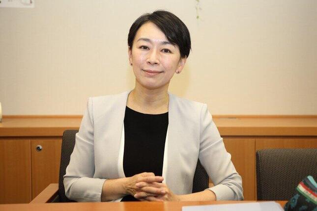 国民民主党の山尾志桜里衆院議員。「対中政策に関する国会議員連盟」(JPAC)の共同代表を務めている