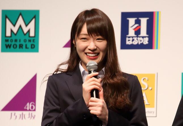高山一実さん(2018年撮影)