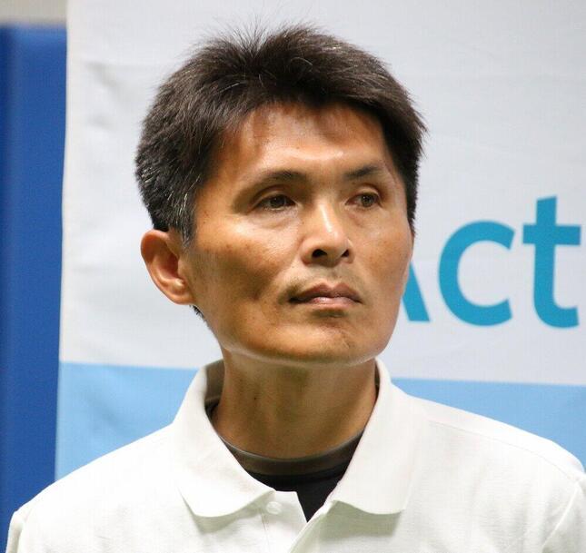 名良橋晃氏(2019年6月撮影)