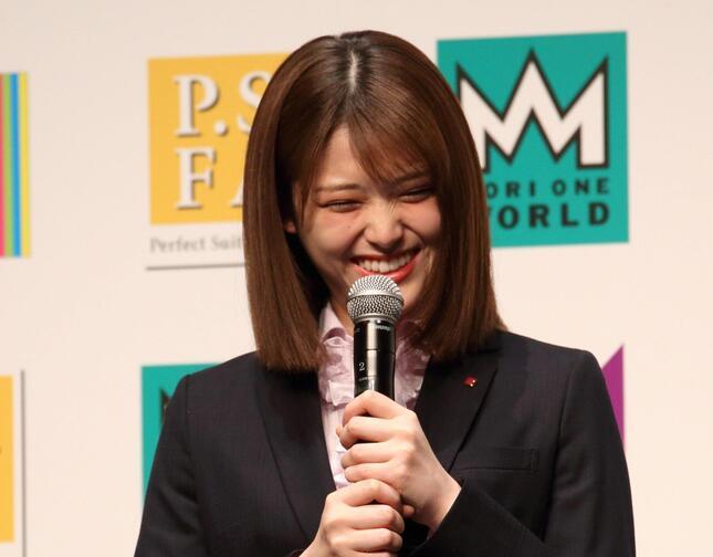 松村沙友理さん(2018年撮影)
