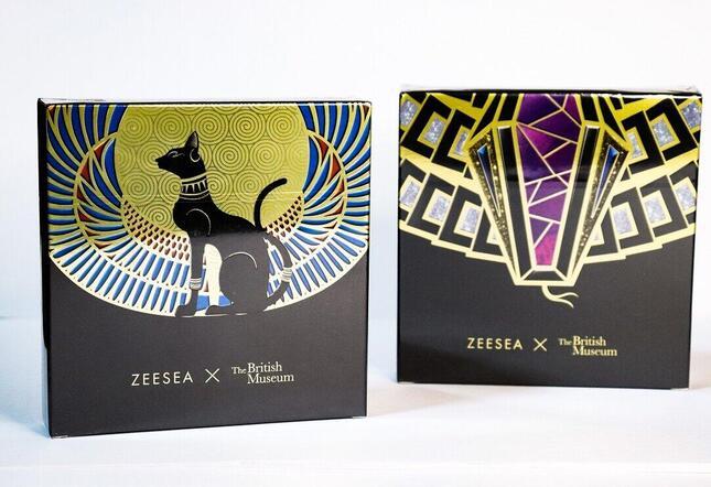 ズーシー(ZEESEA)「大英博物館 エジプトシリーズ」16色アイシャドウパレット