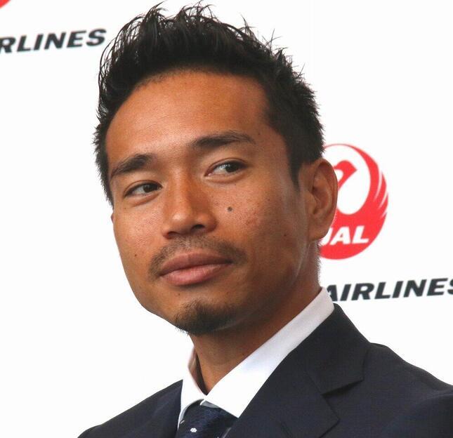 長友佑都(2018年6月撮影)