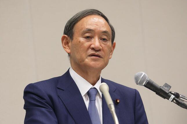 菅義偉官房長官(2020年9月2日、東京都千代田区)