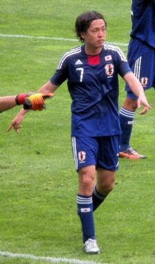 元日本代表の遠藤保仁(写真は2010年5月)