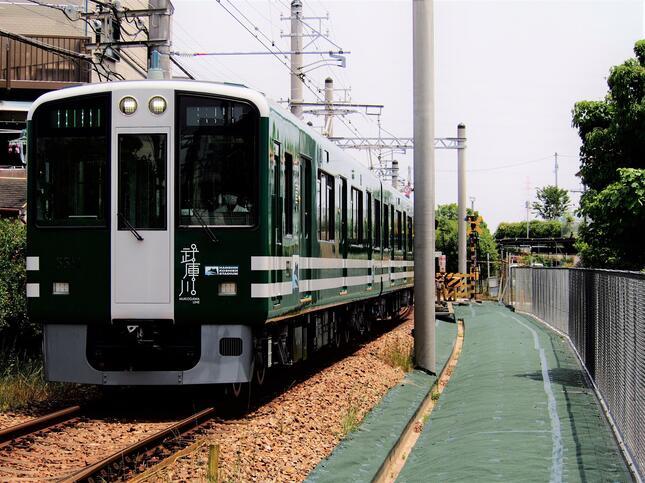 6月3日にデビューした阪神武庫川線の新型車両