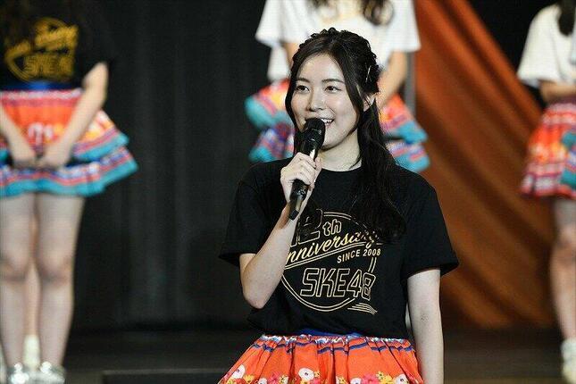 SKE48の松井珠理奈さん。2021年初春に発売の新曲は「松井珠理奈卒業シングル」の位置づけた (c)2020 Zest,Inc.