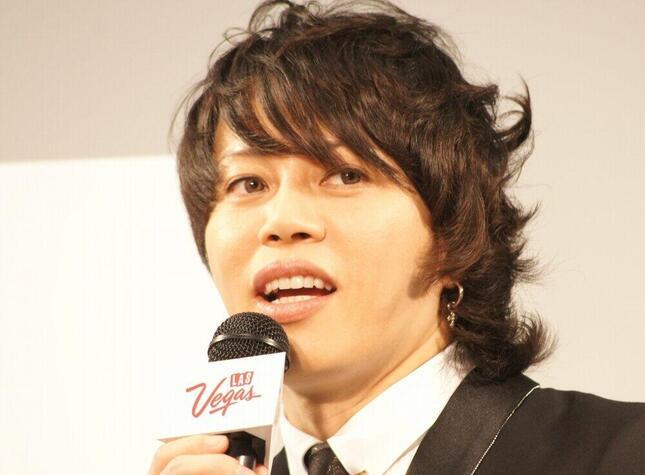 西川貴教さん(2013年)。近年は鍛え上げられた肉体でも話題