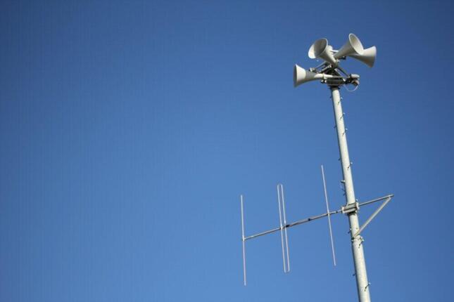 防災無線などから流れるJアラート