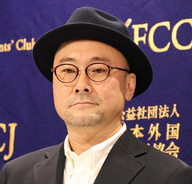 会見した内田英治監督