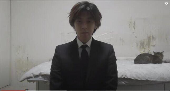 わたきんの謝罪動画