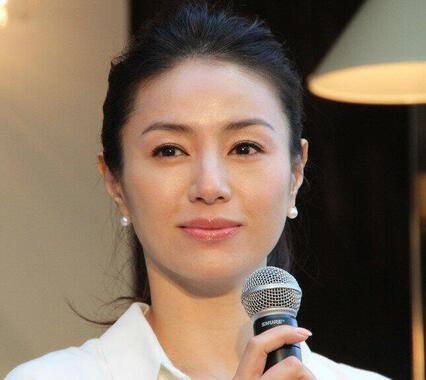 井川遥さん(2014年10月撮影)