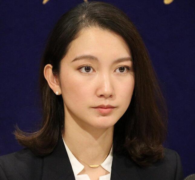 伊藤詩織氏(2019年12月撮影)