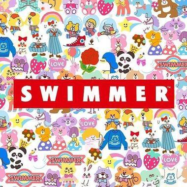 パティズ公式サイトより。復活する「SWIMMER」