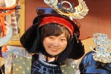 安本彩花さん(2014年12月撮影)