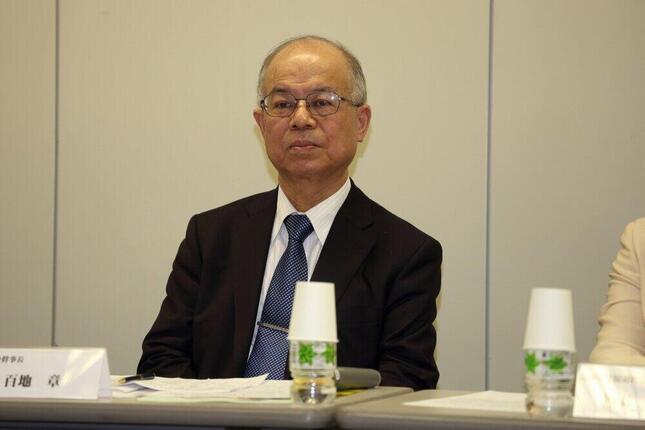 百地章・国士舘大学特任教授。NHKの番組に識者として登場したことが波紋を広げている(2016年撮影)