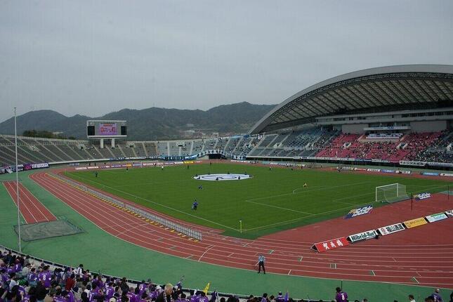 エディオンスタジアム広島(記事中の試合当日の写真ではありません)