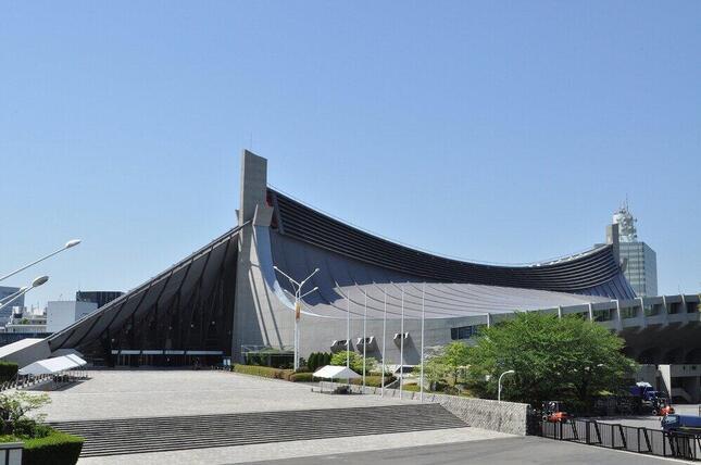 「友情と絆の大会」会場となった国立代々木競技場第一体育館