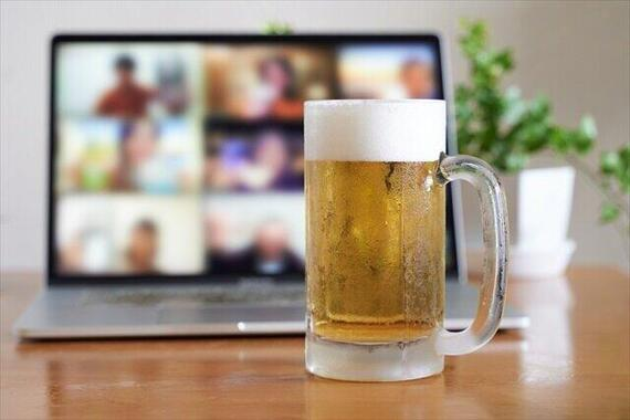 「オンライン飲み会離れ」起きている?(画像はイメージ)