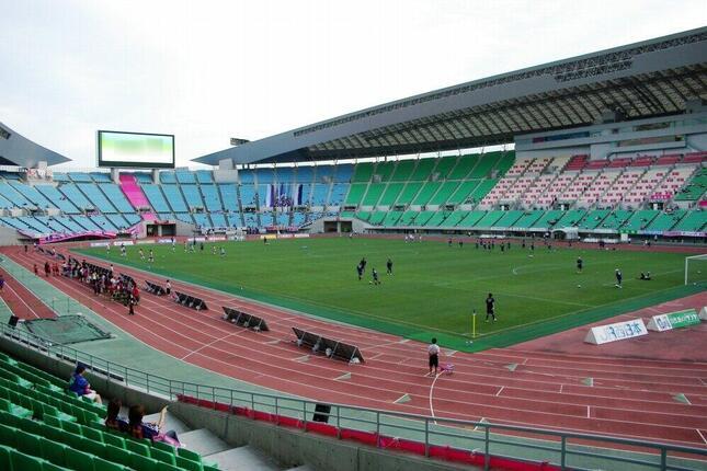 セレッソ大阪のホーム、ヤンマースタジアム長居