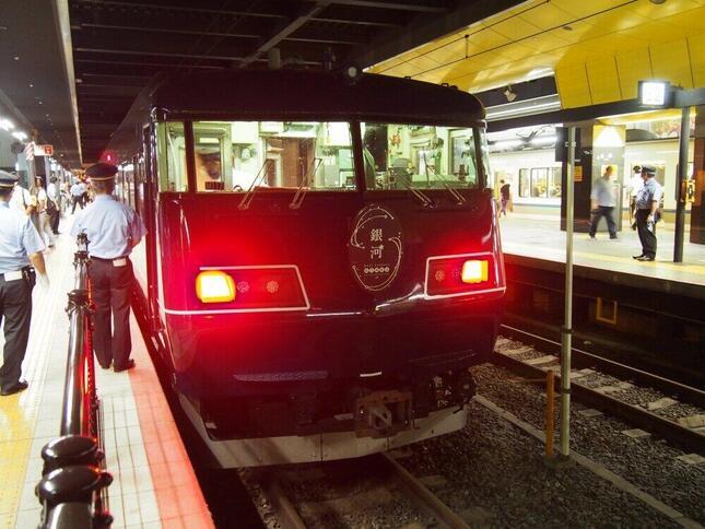 9月にデビューした長距離列車「WEST EXPRESS銀河」