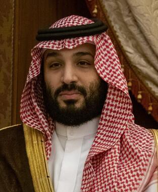 ムハンマド・ビン・サルマーン氏。「ミスク財団」を設立したサウジ皇太子