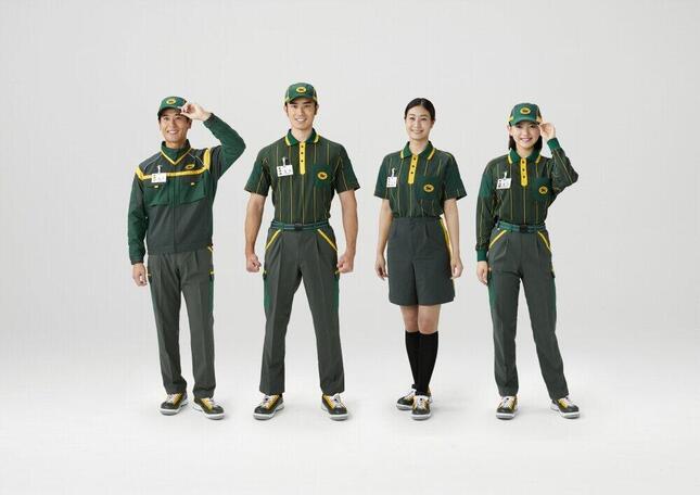 実際のヤマト新制服