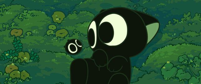 森が開発され、居場所を失った黒猫の妖精シャオヘイ(C) Beijing HMCH Anime Co.,Ltd