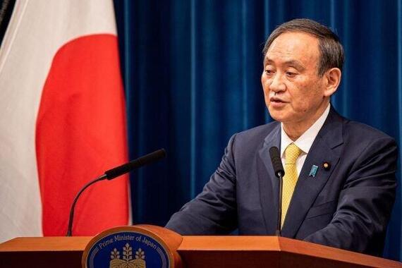 2か月半ぶりの会見に臨んだ菅義偉首相(12月4日撮影)