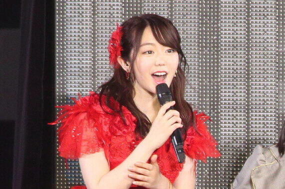 AKB48の峯岸みなみさん