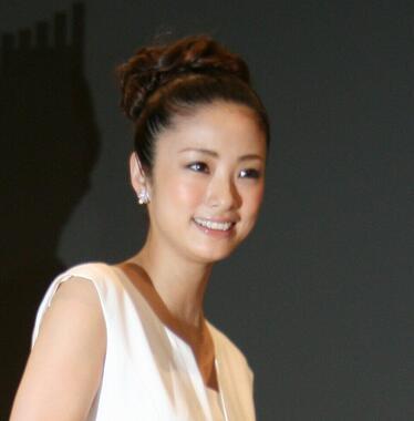 上戸彩さん(2012年撮影)