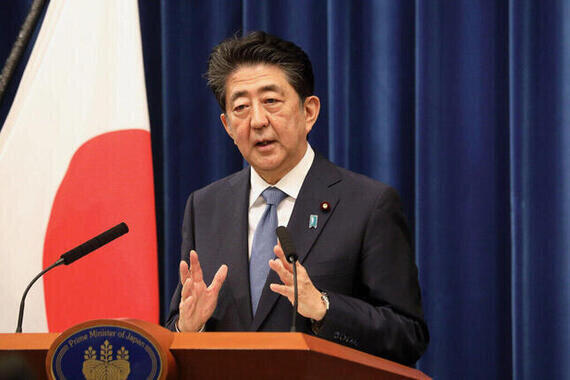 安倍晋三前首相(2020年8月撮影=当時は首相在任中)
