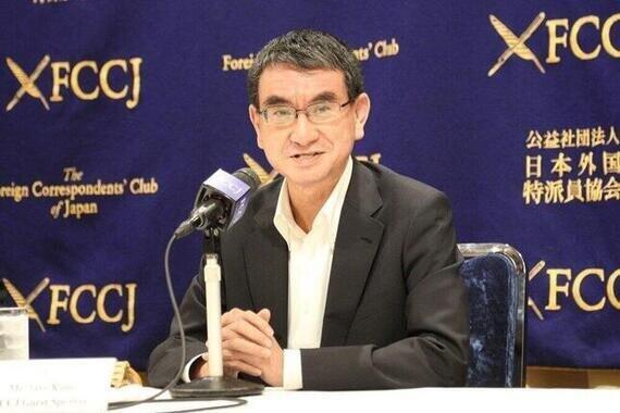 河野太郎行革担当相(2020年6月)