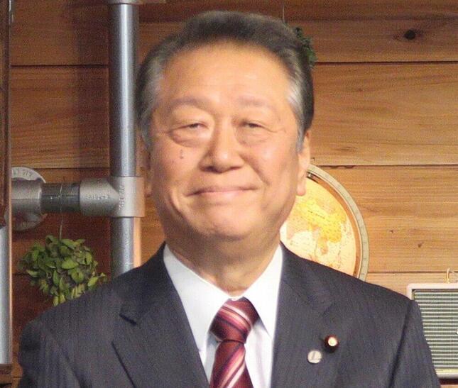 小沢一郎衆院議員(2019年撮影)